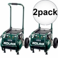 Rolair VT25BIG 2.5 HP 115V 6.5 CFM@90PSI, 5.3G Compressor Folding Handle 2x