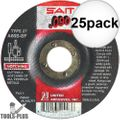 "Sait 20906 25x 7"" x .090"" x 7/8"" General Purpose Metal Cutting Wheel"