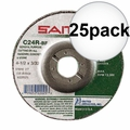 Sait 22025 25pk Masonry Cut-Off Wheel