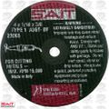 "Sait 23065 4"" x 3/8"" x 1/16"" Thick Metal Cutting Wheel"