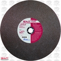 "Sait 23450 14"" x 1"" x 1/8"" Metal Cutting Wheel"
