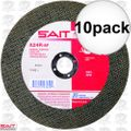Sait 23455 A24R General Purpose Cut-Off Wheel 10x