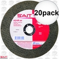 Sait 23455 20pk A24R General Purpose Cut-Off Wheel