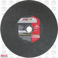 "Sait 24035 10"" x 5/8"" x 3/32"" Stud King Metal Cutting Wheel"