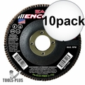 Sait 71205 10x Encore T27 General Purpose Zirconium Flap Discs 36 Grit, 10pk