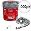 "Senco 06A125P 1000pk #6 x 1-1/4"" Phillips Head Drywall Screws"
