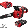 """Skil CS4555-10 PWRCore 40V 14"""" Cordless Chainsaw w/2.5Ah Battery+Charger"""