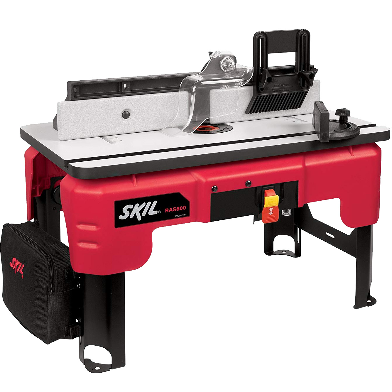 skil ras800 24-in x 14-in router shaper table