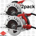 Skilsaw SPT67M8-01 2x Left Hand South Paw Circular Saw 7-1/4""