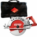 "Skilsaw SPT70WM-22 10-1/4"" Sawsquatch Worm Dr Circ Saw w/Diablo Blade+Bag"