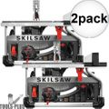 "Skilsaw SPT70WT-22 10"" Worm Drive Table Saw w/ Diablo Blade 2x"