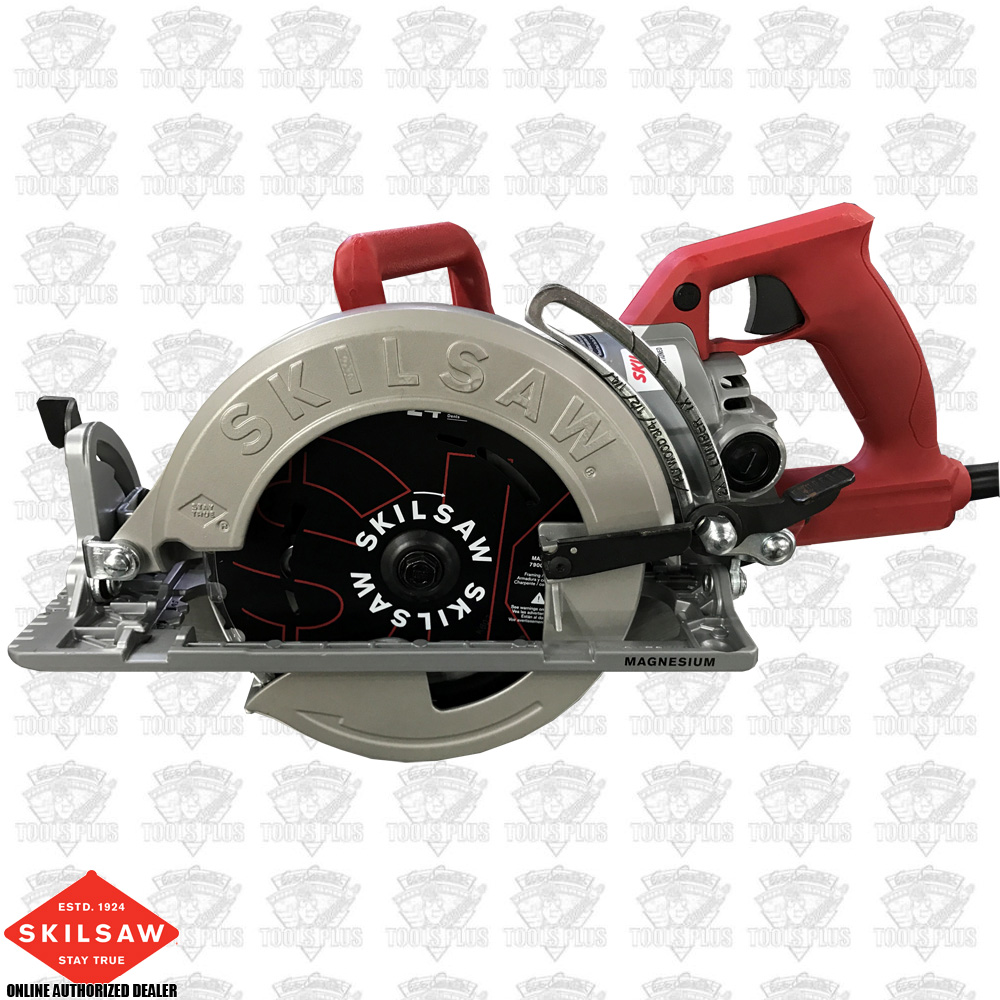 Skilsaw spt77wm rt 15 amp 7 14 mag worm drive skilsaw circular saw greentooth Images