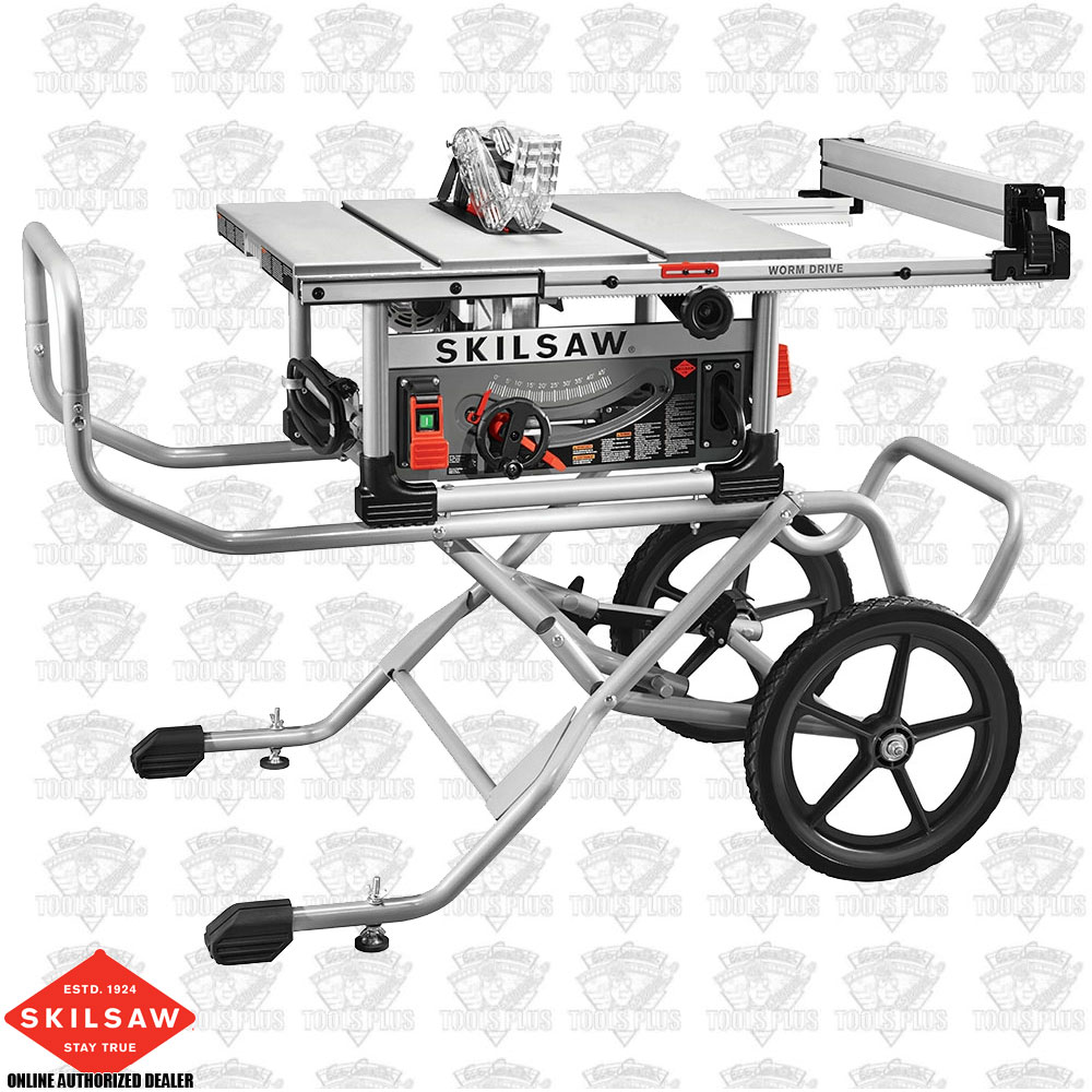 Skilsaw spt99 12 10 heavy duty worm drive table saw stand greentooth Choice Image