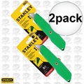 "Stanley 10-179 2x 5-5/8"" High Visibility Retractable Utility Knife"