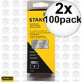 Stanley 11-515 100 Pack Single Edge Blades 2x