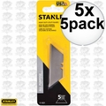 Stanley 11-921 5pc Heavy Duty Utility Blades 5x