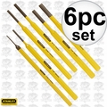Stanley 16-226 6 Piece Punch Kit