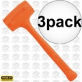 Stanley 57-531 18oz Compo-Cast Standard Head Soft Face Hammer 3x