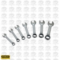 Stanley STMT72256 7pc Stubby SAE Combination Wrench Set