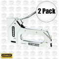 Stanley TR110 Light Duty Steel Staple Gun 2x