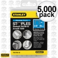 "Stanley TRA706-5C 5000pk 3/8"" Heavy Duty Narrow Crown Staples"