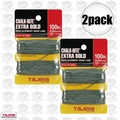 "Tajima PL-ITOL 100 ft .04"" Bold Braided Replacement Chalk Line 2x"