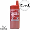 Tajima PLC2-R300 10.5oz 300g Micro Powder Ultra Fine Snap Line Chalk Red 12x