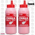 Tajima PLC2-R900 32oz Red Ultra-Fine Micro Chalk 2x