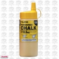 Tajima PLC2-Y300 10.5oz 300g Micro Powder Ultra Fine Snap Line Chalk Yellow