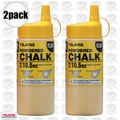 Tajima PLC2-Y300 10.5oz 300g Micro Powder Ultra Fine Line Chalk Yellow 2x