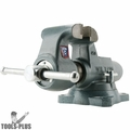 "Wilton 10026 5"" Machinists' Bench Vise w/ Swivel Base"