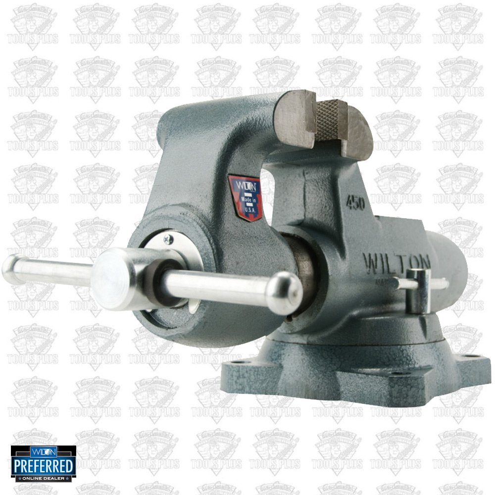Wilton 10031 6 Machinists Bench Vise W Swivel Base