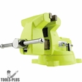 "Wilton 63187 5"" High-Visibility Safety Vise w/ Swivel Base"