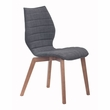 Aalborg Dining Chair in Graphite (Set of 2) - Zuo Modern 100057