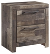 Benchcraft Derekson Two Drawer Night Stand - Ashley Furniture B200-92
