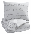 Signature Design Adrianna King Comforter Set - Ashley Furniture Q337003K