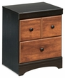 Signature Design Aimwell Two Drawer Night Stand - Ashley Furniture B136-92