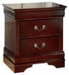 Signature Design Alisdair Two Drawer Night Stand - Ashley Furniture B376-92