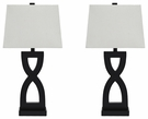 Signature Design Amasai Poly Table Lamp (Set of 2) - Ashley Furniture L243144