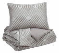 Signature Design Anjelita Queen Comforter Set - Ashley Furniture Q385003Q