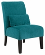 Signature Design Annora Teal Accent Chair - Ashley Furniture 6160460