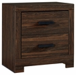 Signature Design Arkaline Two Drawer Night Stand - Ashley Furniture B071-92