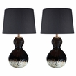 Signature Design Arma Glass Table Lamp (Set of 2) - Ashley Furniture L430524