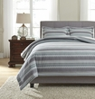 Signature Design Asante Queen Duvet Cover Set - Ashley Furniture Q329003Q