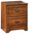 Signature Design Barchan Two Drawer Night Stand - Ashley Furniture B228-92