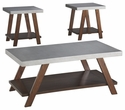 Signature Design Bellenteen Occasional 3-Pc Table Set - Ashley Furniture T295-13