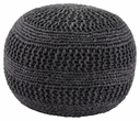 Signature Design Benedict Gray Pouf - Ashley Furniture A1000559