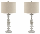 Signature Design Bernadate Poly Table Lamp (Set of 2) - Ashley Furniture L235344