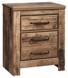 Signature Design Blaneville Two Drawer Night Stand - Ashley Furniture B224-92
