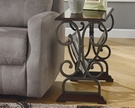 Signature Design Braunsen Chair Side End Table - Ashley Furniture T017-329